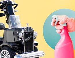 Elektromobilpflege
